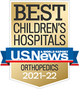 Best Children's Hospital, Orthopedics, U.S. News & World Report, 2013-14
