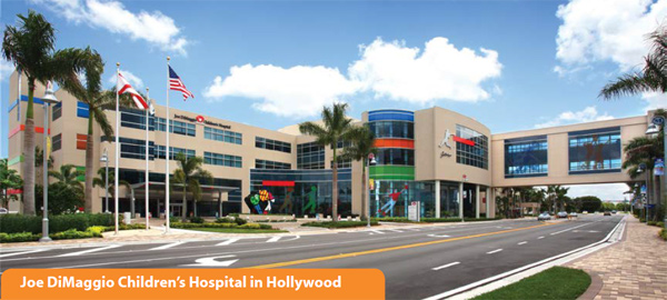 Joe DiMaggio Children's Hospital in Hollywood
