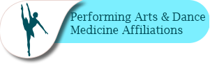 Performing Arts & Dance Medicine Affiliations